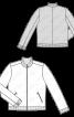 Куртка спортивного крою з коміром-стойкою - фото 3