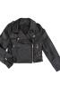 Куртка шкіряна в байкерському стилі - фото 2