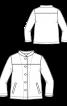 Куртка вельветова з коміром-стойкою - фото 3