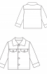 Куртка вельветовая на меховой подкладке - фото 3