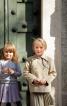 Жакет двобортний з відлітною кокеткою - фото 1