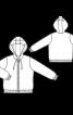 Куртка з капюшоном і застібкою-блискавкою - фото 3