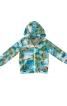 Куртка з капюшоном і застібкою-блискавкою - фото 2