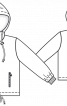 Куртка прямого крою із застібкою-блискавкою - фото 3