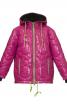 Куртка прямого крою з прорізними кишенями - фото 2
