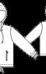 Куртка прямого крою з прорізними кишенями - фото 3