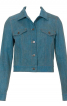 Куртка джинсова приталеного крою - фото 2