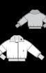Куртка хутряна в стилі бомбера - фото 3