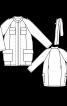 Куртка спортивного крою О-силуету - фото 3