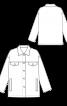 Куртка вельветовая прямого кроя - фото 3