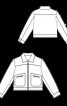 Куртка короткая вельветовая - фото 3
