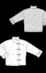 Куртка зі штучної шкіри із застібками-клевантами - фото 3