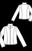Куртка приталенного кроя на молнии - фото 3