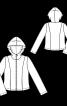 Куртка флісова з капюшоном - фото 3