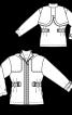 Куртка з розкладним капюшоном - фото 3
