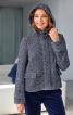 Куртка з коміром-стойкою і капюшоном - фото 1