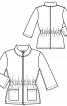 Куртка з рукавами-розтрубами довжиною 3/4 - фото 3