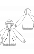 Куртка в спортивном стиле с рукавами реглан - фото 3