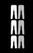 Легінси трикотажні на резинці довжиною 7/8 - фото 3