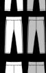 Легінси на широкому поясі з лампасами - фото 3