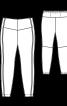 Легінси на кокетці - фото 3