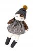 Лялька м'яка у сукні і шапці - фото 2