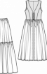 """Костюм """"Піратка"""" - сукня, спідниця, пояс - фото 3"""