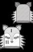 Рукавичка-мочалка «Лисичка» - фото 3