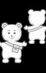 М'яка іграшка «Ведмедик» - фото 3