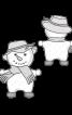 М'яка іграшка «Сніговик» - фото 3