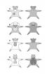 М'які іграшки: ведмедик, овечка, корівка і сонечко - фото 8