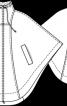 Накидка з коміром-стійкою - фото 3