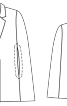 Накидка з вузькими лацканами - фото 3