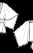 Блуза з запахом оригінального крою - фото 3