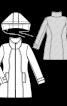 Пальто коротке з коміром-стойкою - фото 3