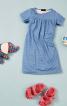 Нічна сорочка з короткими рукавами - фото 1