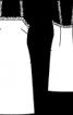 Нічна сорочка на бретелях - фото 3