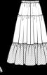 Нижня спідниця довжини максі - фото 3