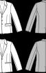 Піджак однобортний приталеного силуету - фото 3