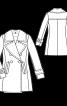 Пальто-бушлат зі знімним коміром - фото 3