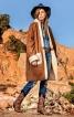 Пальто-дублянка з рукавами-реглан - фото 1