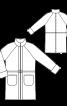 Пальто-дублянка з рукавами-реглан - фото 3