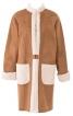 Пальто-дублянка з рукавами-реглан - фото 2