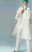 Пальто-накидка з коміром-стійкою - фото 2