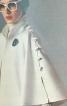 Пальто-накидка з коміром-стійкою - фото 4