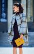 Пальто широкого крою із коміром-стойкою - фото 1