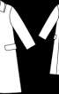 Пальто А-силуету з лодену - фото 3