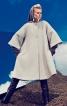Пальто А-силуету з рукавами реглан - фото 1