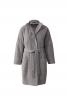 Пальто О-силуету з коміром-стойкою - фото 2