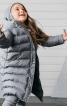 Пальто з коміром-стійкою і капюшоном - фото 1